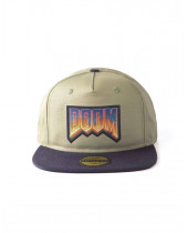 Doom Snapback Cap Eternal Retro Logo