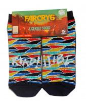 Far Cry 6 ponožky Flame