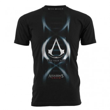 Assassins Creed Find Your Past Black (T-Shirt)