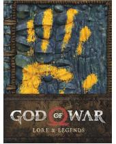 God of War kniha - Lore and Legends Book