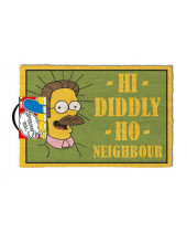 Simpsons rohožka Hi Diddly Ho Neighbour 40 x 60 cm