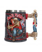 Iron Maiden pivný pohár Trooper 14 cm