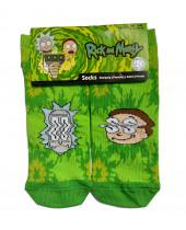Rick and Morty ponožky Fire