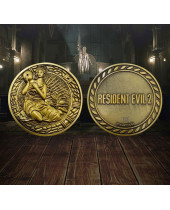 Resident Evil 2 replika 1/1 Maiden Medallion