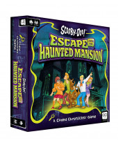 Scooby-Doo - Escape from the Haunted Mansion - A Coded Chronicles stolová hra (English Version)