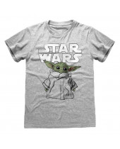 Star Wars The Mandalorian - Child Sketch (T-Shirt)