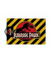 Jurassic Park rohožka - Warning 40 x 60 cm
