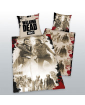 Walking Dead - posteľné obliečky Tag Team 135 x 200 cm / 80 x 80 cm