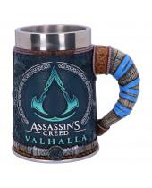 Assassins Creed Valhalla pivný pohár Logo 15 cm