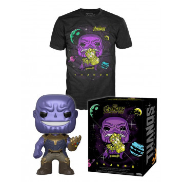 Pop! Marvel - Avengers Infinity War - Thanos Tee Box