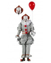 Stephen Kings It 2017 Retro akčná figúrka Pennywise 20 cm