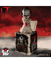 Stephen Kings It 2017 Burst-A-Box Music Box Pennywise 36 cm