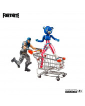 Fortnite akčná figúrka Shopping Cart Pack War Paint and Fireworks Team Leader 18 cm
