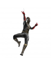 Spider-Man - No Way Home Movie Masterpiece akčná figúrka 1/6 Spider-Man (Black and Gold Suit) 30 cm