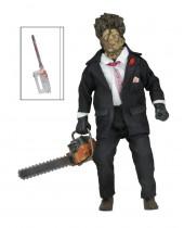 Texas Chainsaw Massacre 2 Retro akčná figúrka 30th Anniversary Leatherface 20 cm