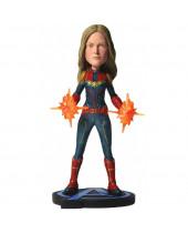 Avengers Endgame Head Knocker Captain Marvel Bobblehead 20 cm