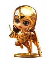 Wonder Woman 1984 Cosbaby (S) mini figúrka Golden Armor Wonder Woman (Metallic Gold Version) 10 cm