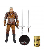 Witcher akčná figúrka Geralt of Rivia Gold Label Series 18 cm