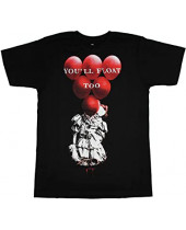 Stephen Kings It Red Balloons Float (T-Shirt)