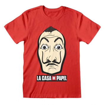 Money Heist - Mask and Logo (T-Shirt)