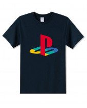 PlayStation - Logo Navy (T-Shirt)