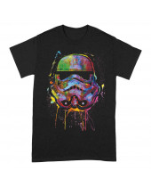 Star Wars Paint Splats Helmet (T-Shirt)