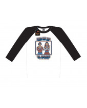 Steven Rhodes Raglan Baseball - Just Say No To Sports (T-Shirt, Long Sleeve)