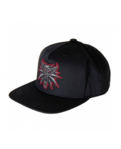 Witcher 3 Cap Black Wolf
