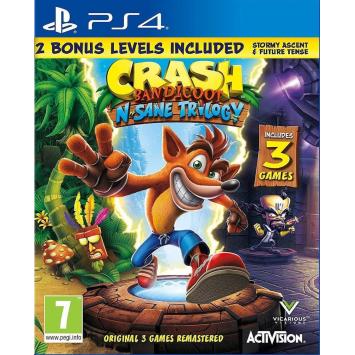 Crash Bandicoot N. Sane Trilogy DE (PS4)