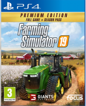 Farming Simulator 19 CZ (Premium Edition) (PS4)