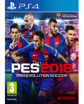 Pro Evolution Soccer 2018 (PS4)