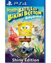 Spongebob Squarepants - Battle for Bikini Bottom Rehydrated (Shiny Edition) (PS4)