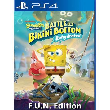 Spongebob Squarepants - Battle for Bikini Bottom Rehydrated (F.U.N. Edition) (PS4)