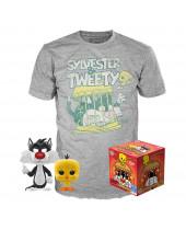 Pop! Looney Tunes - Sylvester and Tweety Tee Box