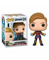 Pop! Marvel - Avengers Endgame - Captain Marvel with New Hair