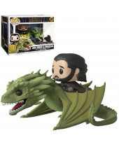 Pop! Game of Thrones - Jon Snow and Rhaegal Super Sized 18 cm