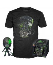 Pop! Alien - 40th Xenomorph Tee Box