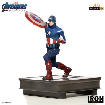 Avengers Endgame BDS Art Scale socha 1/10 Captain America 21 cm