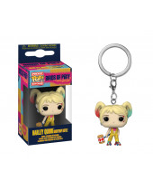 Pop! Pocket Keychain - Birds of Prey - Harley Quinn (Boobytrap Battle)