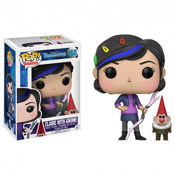 Pop! Television - Trollhunters - Claire with Gnome