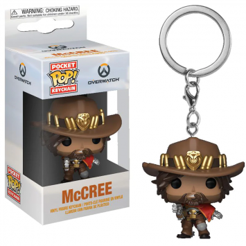 Pop! Pocket Keychain - Overwatch - McCree