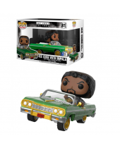 Pop! Rides - Ice Cube - Ice Cube with Impala (Super Sized, 18cm)