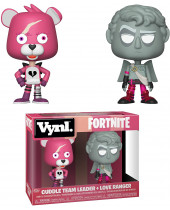 Fortnite VYNL - Vinyl Figures 2 pack Cuddle Team Leader and Love Ranger 10 cm