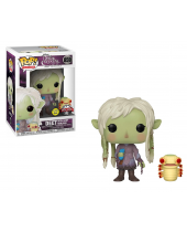 Pop! Television - The Dark Crystal Age of Resistance - Deet with Baby Nurlock (Glow in the Dark, Special Edition)