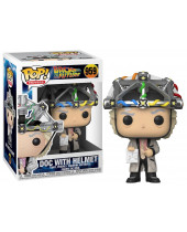 Pop! Movies - Back to the Future - Doc with Helmet