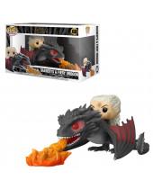 Pop! Game of Thrones - Daenerys on Fiery Drogon (Super Sized, 15cm)
