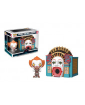 Pop! Movies - It - Demonic Pennywise and Funhouse