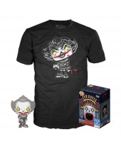 Pop! Stephen Kings It - Pennywise Tee Box