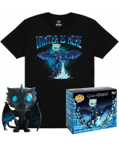 Pop! Game of Thrones - Icy Viserion Tee Box