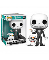 Pop! Disney - The Nightmare Before Christmas - Jack Skellington with Zero (Super Sized, 25cm)
